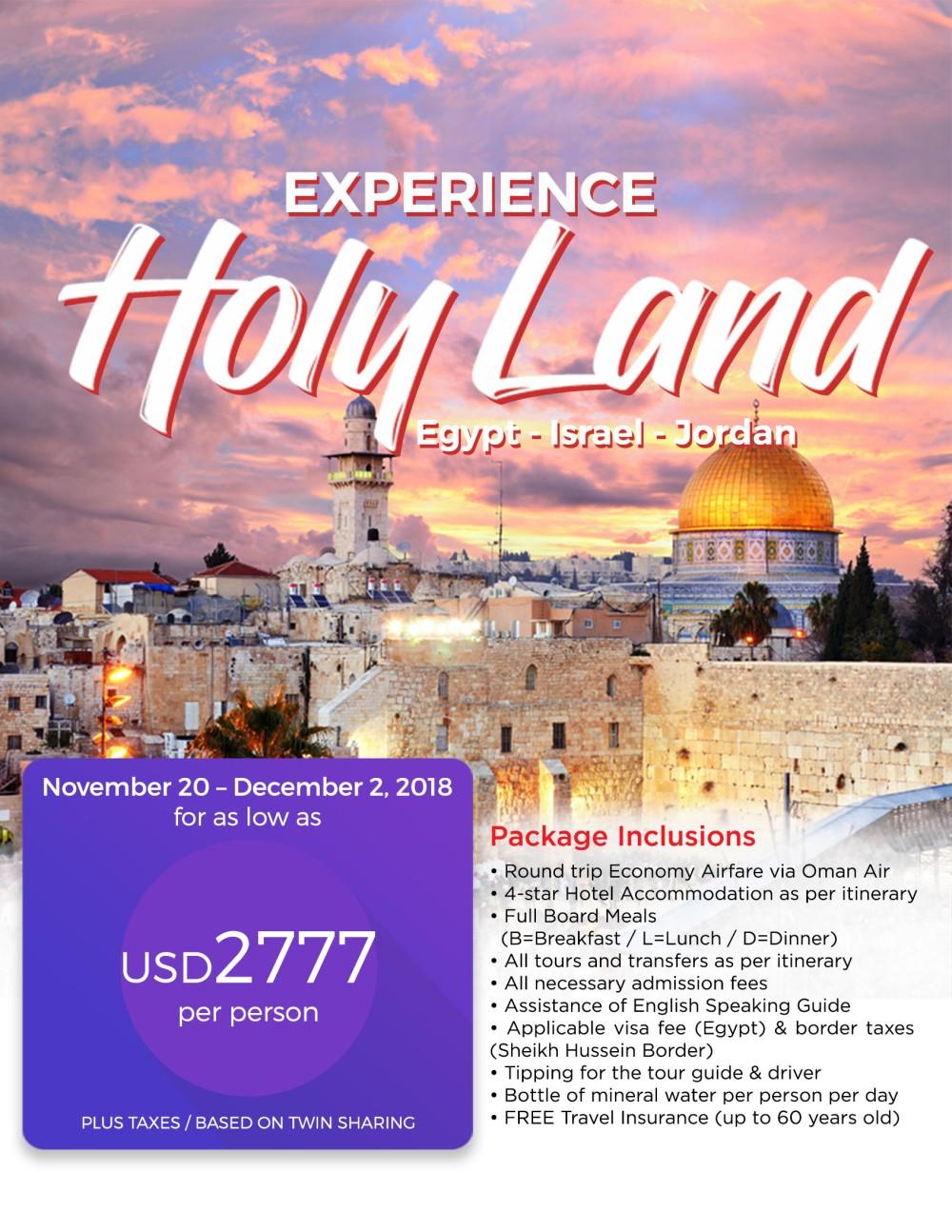 HOLY LAND OF ISRAEL